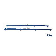 Racks for fastening on a wall